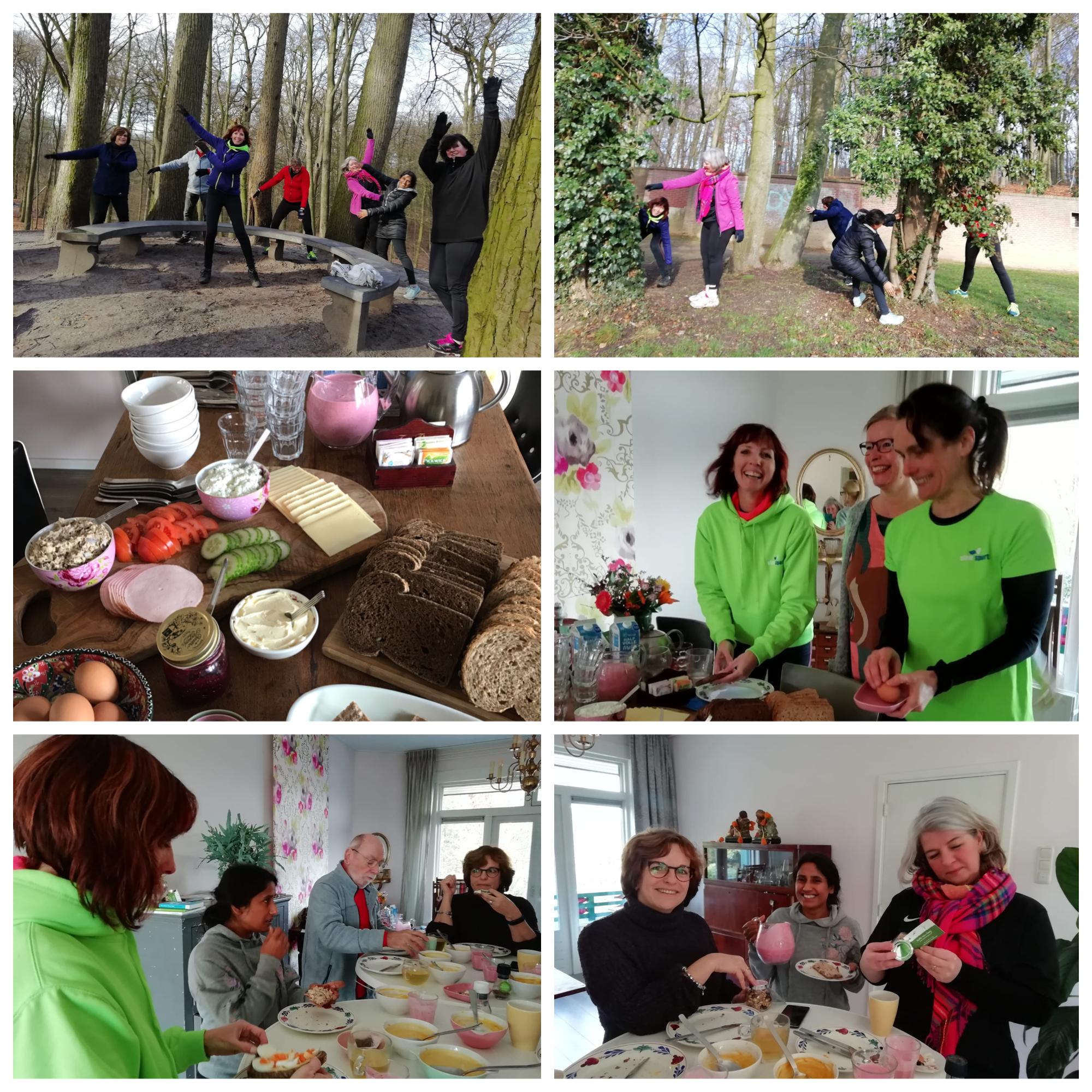 Zaterdag 30 maart les Slow Sports van Buitenbeweging met een Voelt Goed lunch
